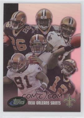 2006 eTopps - Team Cards #8 - New Orleans Saints Team /999