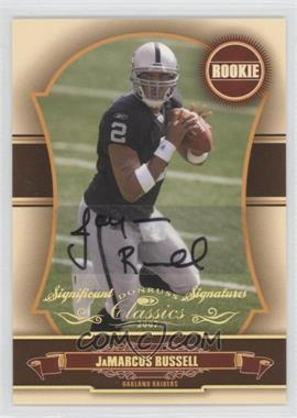2007 Donruss Classics - [Base] - Significant Signatures Gold [Autographed] #151 - JaMarcus Russell /100