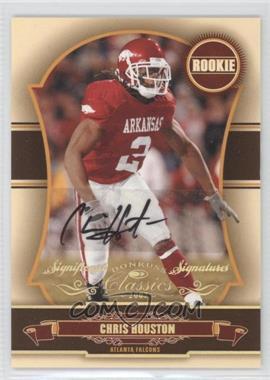 2007 Donruss Classics - [Base] - Significant Signatures Gold [Autographed] #213 - Chris Houston /100