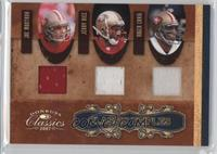 Jerry Rice, Joe Montana, Roger Craig