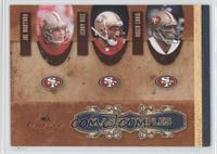 Roger Craig, Jerry Rice, Joe Montana /500