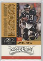Greg Lewis /83 [EX to NM]