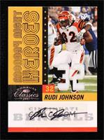 Rudi Johnson #/32
