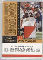 Rudi Johnson /25