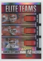 Larry Johnson, Tony Gonzalez, Trent Green #/400