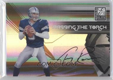 2007 Donruss Elite - Passing the Torch - Autographs [Autographed] #PT-4 - Tony Romo /99