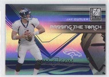 2007 Donruss Elite - Passing the Torch - Blue #PT-14 - Jay Cutler /200