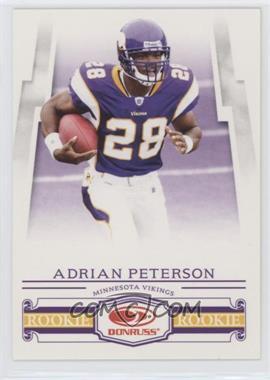 2007 Donruss Frito Lay - [Base] #1 - Rookies - Adrian Peterson