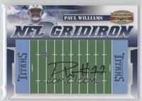 Paul Williams #/25