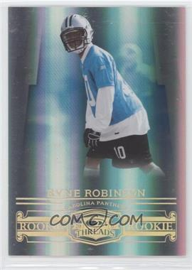 2007 Donruss Threads - [Base] - Century Proof Gold #178 - Ryne Robinson /50