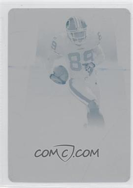 2007 Donruss Threads - [Base] - Printing Plate Cyan #56 - Santana Moss /1
