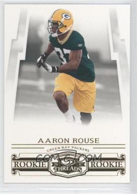 2007 Donruss Threads - [Base] - Retail Rookies #185 - Aaron Rouse /999