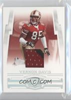 Vernon Davis #/25