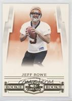 Rookies - Jeff Rowe #/999