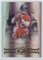 Autographed Rookies - Chris Leak /299