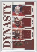 Alex Smith, Frank Gore, Vernon Davis #/250