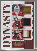 Alex Smith, Frank Gore, Vernon Davis [Noted] #/25