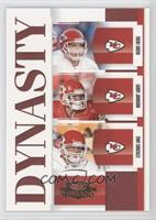 Trent Green, Larry Johnson, Tony Gonzalez