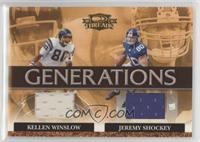 Jeremy Shockey, Kellen Winslow /250
