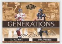 Eli Manning, Philip Rivers