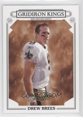 2007 Donruss Threads - Pro Gridiron Kings #PGK-18 - Drew Brees