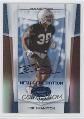 2007 Leaf Certified Materials - [Base] - Mirror Blue Signatures [Autographed] #162 - Eric Frampton /50
