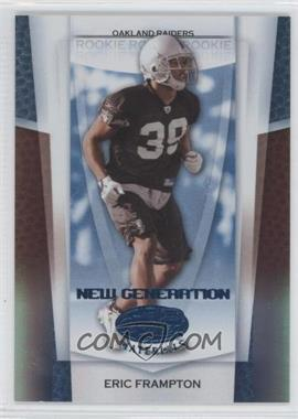2007 Leaf Certified Materials - [Base] - Mirror Blue #162 - Eric Frampton /50