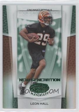 2007 Leaf Certified Materials - [Base] - Mirror Emerald #171 - Leon Hall /5