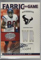 Andre Johnson [Noted] #/10