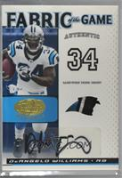 DeAngelo Williams [Noted] #/5