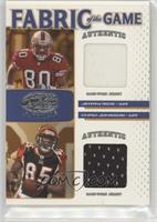 Chad Johnson, Jerry Rice #/100