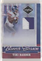 Tiki Barber [Noted] #/25