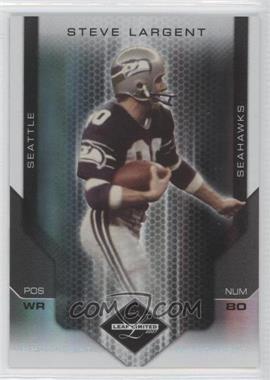 2007 Leaf Limited - [Base] - Spotlight Silver #191 - Steve Largent /20