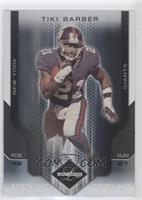 Tiki Barber [Noted] #/20