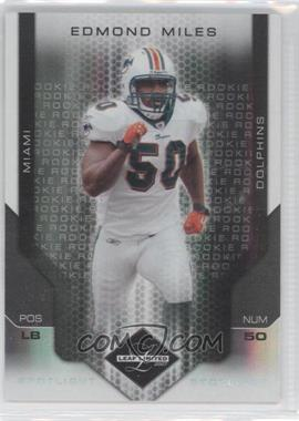 2007 Leaf Limited - [Base] - Spotlight Silver #218 - Edmond Miles /20