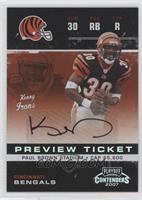 Kenny Irons #/50