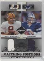 Sonny Jurgensen, Tony Romo #/100