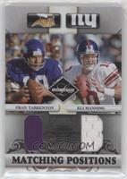 Eli Manning, Fran Tarkenton #/100