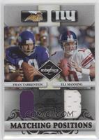 Eli Manning, Fran Tarkenton /100