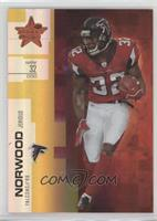 Jerious Norwood [Noted] #/49
