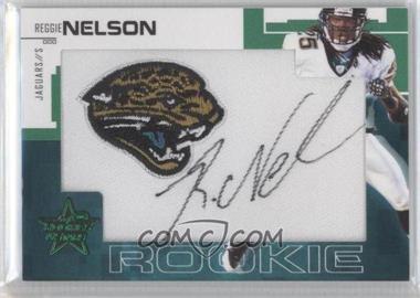 2007 Leaf Rookies & Stars - [Base] - SP Rookies Emerald Signatures [Autographed] #250 - Reggie Nelson /5