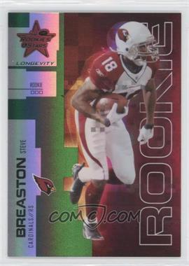 2007 Leaf Rookies & Stars Longevity - [Base] - Emerald #179 - Steve Breaston /29
