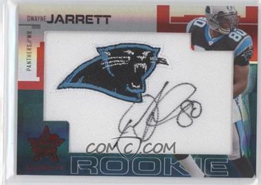 2007 Leaf Rookies & Stars Longevity - [Base] - SP Rookies Ruby Signatures [Autographed] #232 - Dwayne Jarrett /4