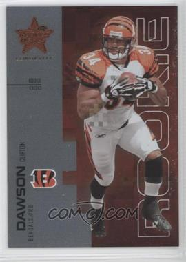 2007 Leaf Rookies & Stars Longevity - [Base] #147 - Clifton Dawson /999