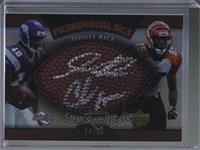 Sidney Rice, Chad Johnson [Noted] #/50