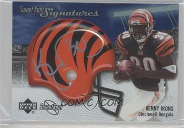 2007 NFL Sweet Spot - Signatures Tier 2 - Silver 49 #SSS-KI2 - Kenny Irons /49