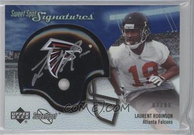 2007 NFL Sweet Spot - Signatures Tier 3 - Silver 99 #SSS-LR - Laurent Robinson /99