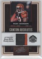 Rudi Johnson #/25