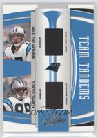 Jake Delhomme, Steve Smith #/100