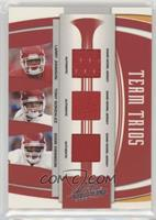 Larry Johnson, Tony Gonzalez, Eddie Kennison #/100
